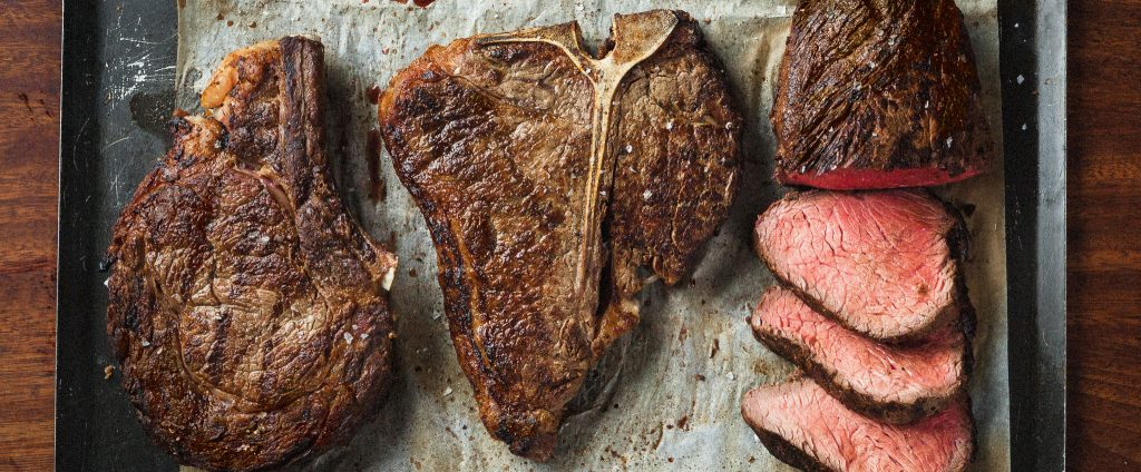 Steak restaurant in London bridge
