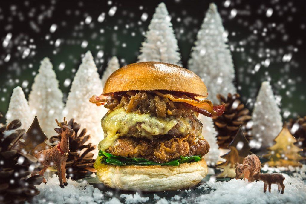 Hawksmoor Christmas Burger