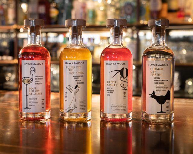 Hawksmoor bottled cocktails