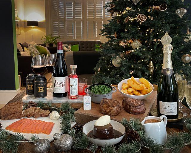Hawksmoor at Home festive box