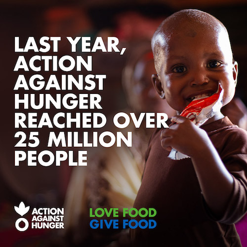 Love Food Give Food - Action Against Hunger